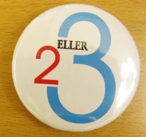 Ein button som denne vil få folk til å undre seg.